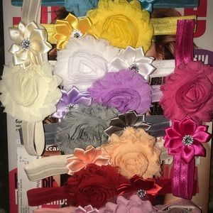 10 baby Headbands